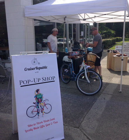 Urban Cycling Pop-Up in Vancouver BC - Cruiser Republic