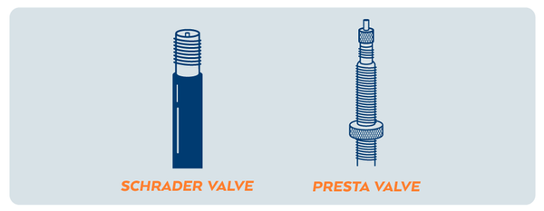 Presta Vs Schrader Inner Tubes - The Differences