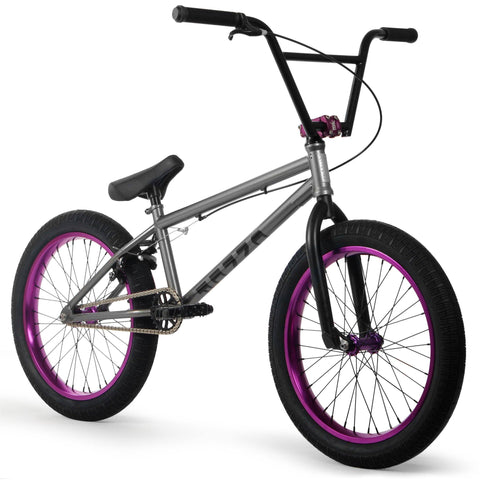 Elite BMX - CMNDR - Grey/purple Cruiser Republic