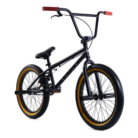 Elite BMX Stealth - Black Gum Elite BMX (ISD)