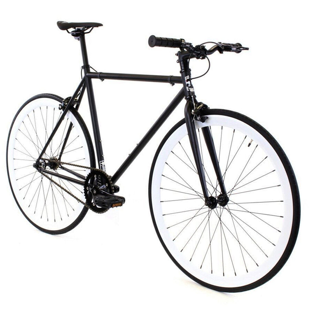 Golden Cycles Domino Fixed Gear - Black and White