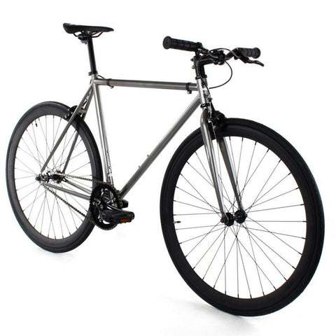 Golden Cycles Asphalt Fixed Gear - Black and Gunmetal Grey Golden Cycles (ISD)