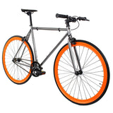 Golden Cycles Blaze Fixed Gear - Orange and Metallic Grey Golden Cycles (ISD)