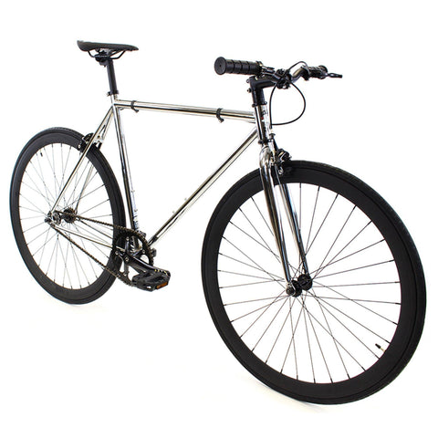 Golden Cycles Chrome Fixed Gear - Black and Chrome Golden Cycles (ISD)