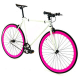 Golden Cycles Dahlia Fixed Gear - Pink and White Golden Cycles (ISD)