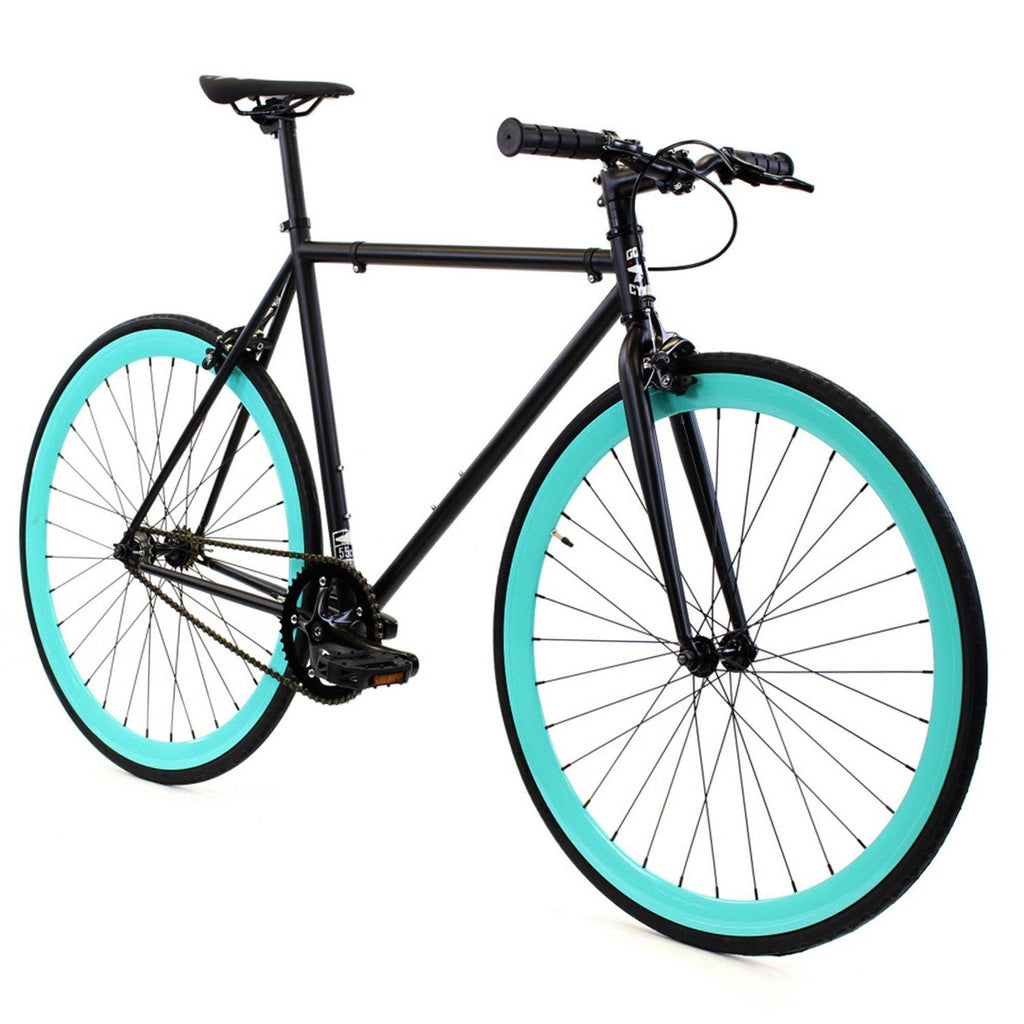 Golden Cycles Jackson Fixed Gear - Cyan and Black