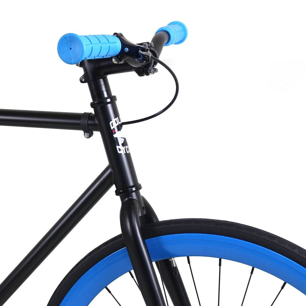 Golden Cycles Magic Fixed Gear - Blue and Black