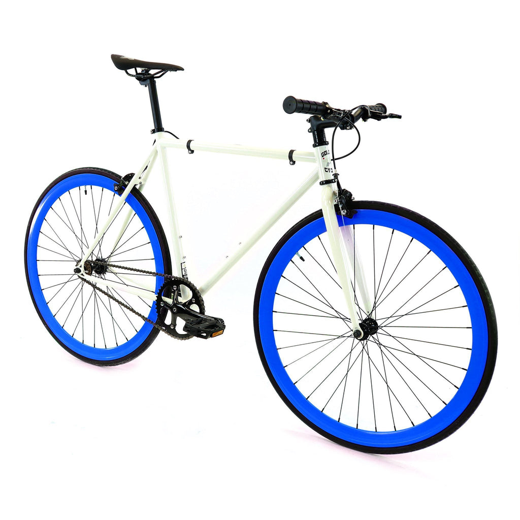 Golden Cycles Royal Fixed Gear - Blue and White