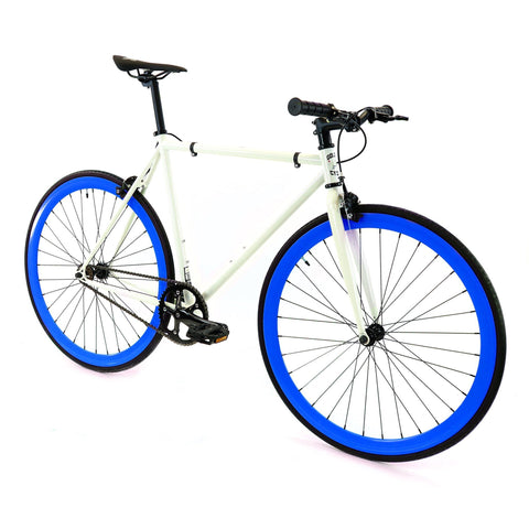 Golden Cycles Royal Fixed Gear - Blue and White Golden Cycles (ISD)
