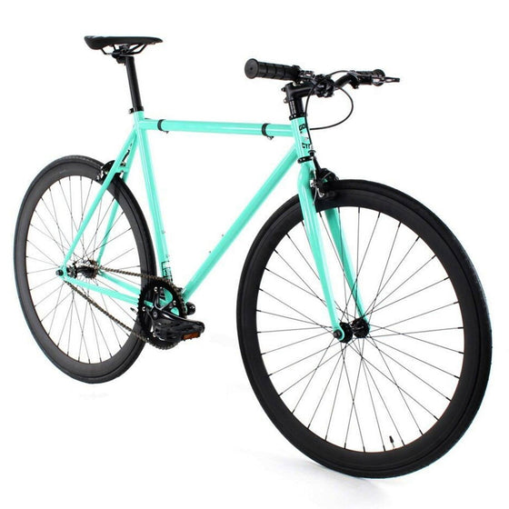 Golden Cycles Striker Fixed Gear - Black and Cyan