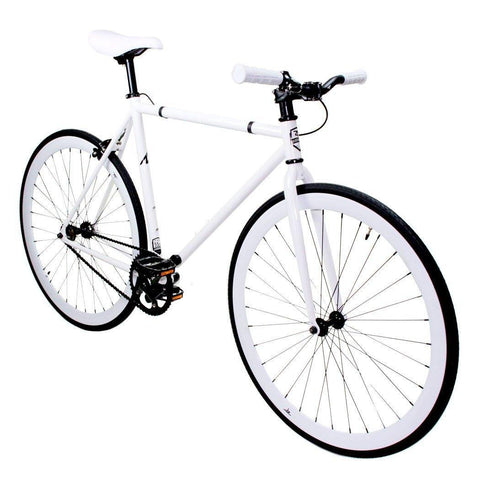 ZF Bikes Fixed - White Out ZF Bikes (ISD)