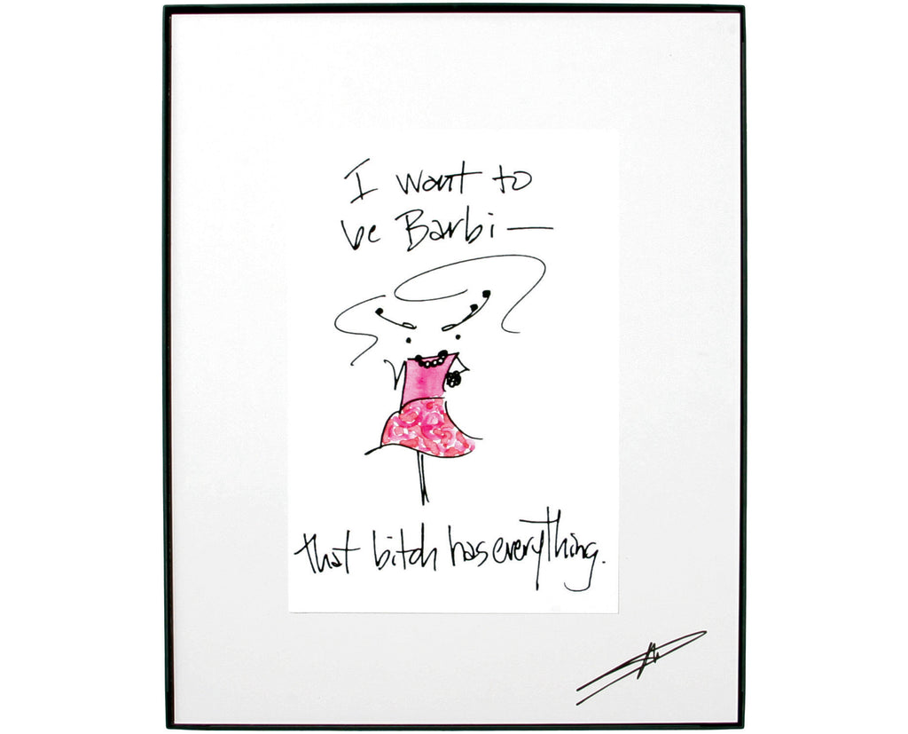 Barbi Framed Art (10002)