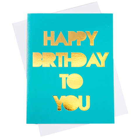 Happy Birthday Greeting Card (18095)