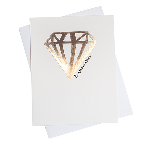 Diamonds Congratulations Greeting Card (18103)