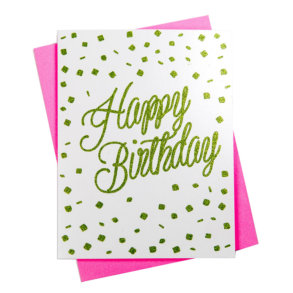 Happy Birthday - Greeting Card (18120)