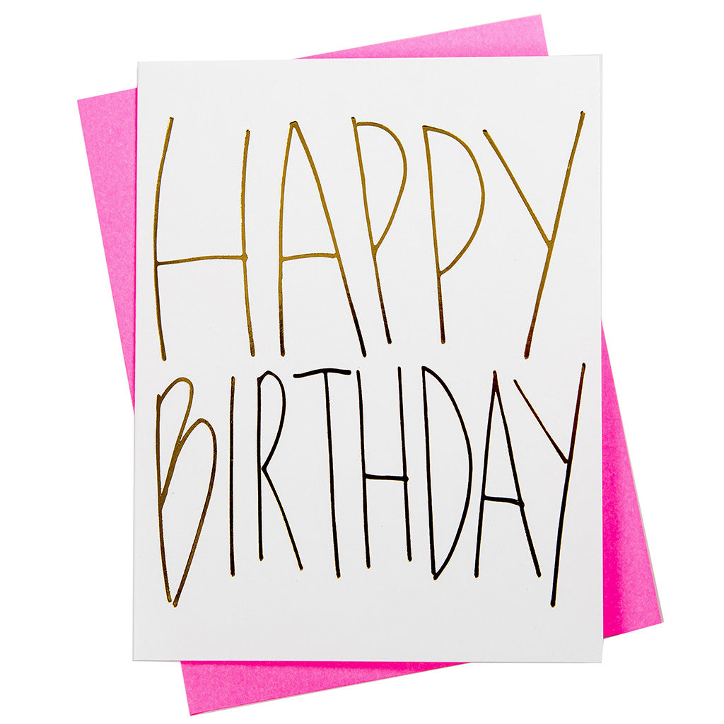Happy Birthday Greeting Card 18121 Mary Phillips Designs