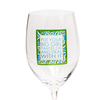 Put On Your Big Girl Panties And Deal With It 16 OZ Wine Glass (19004)