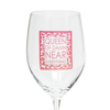 Queen of Damn Near Everything 16 OZ Wine Glass (19011)