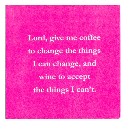 Lord, Give Me Coffee - Napkin (20150)