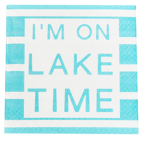 Lake Time Napkin (20157)