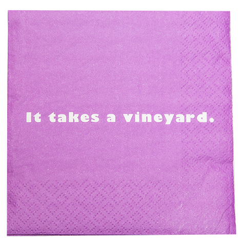 It Takes a Vineyard Napkin (20158)