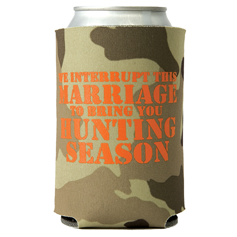 Hunting Season Can Cooler (23008)