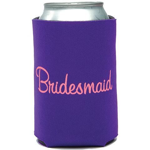 Bridesmaid Can Cooler (23017)