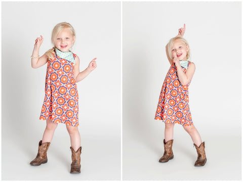 Lucy Dress by Plaid Buttercup
