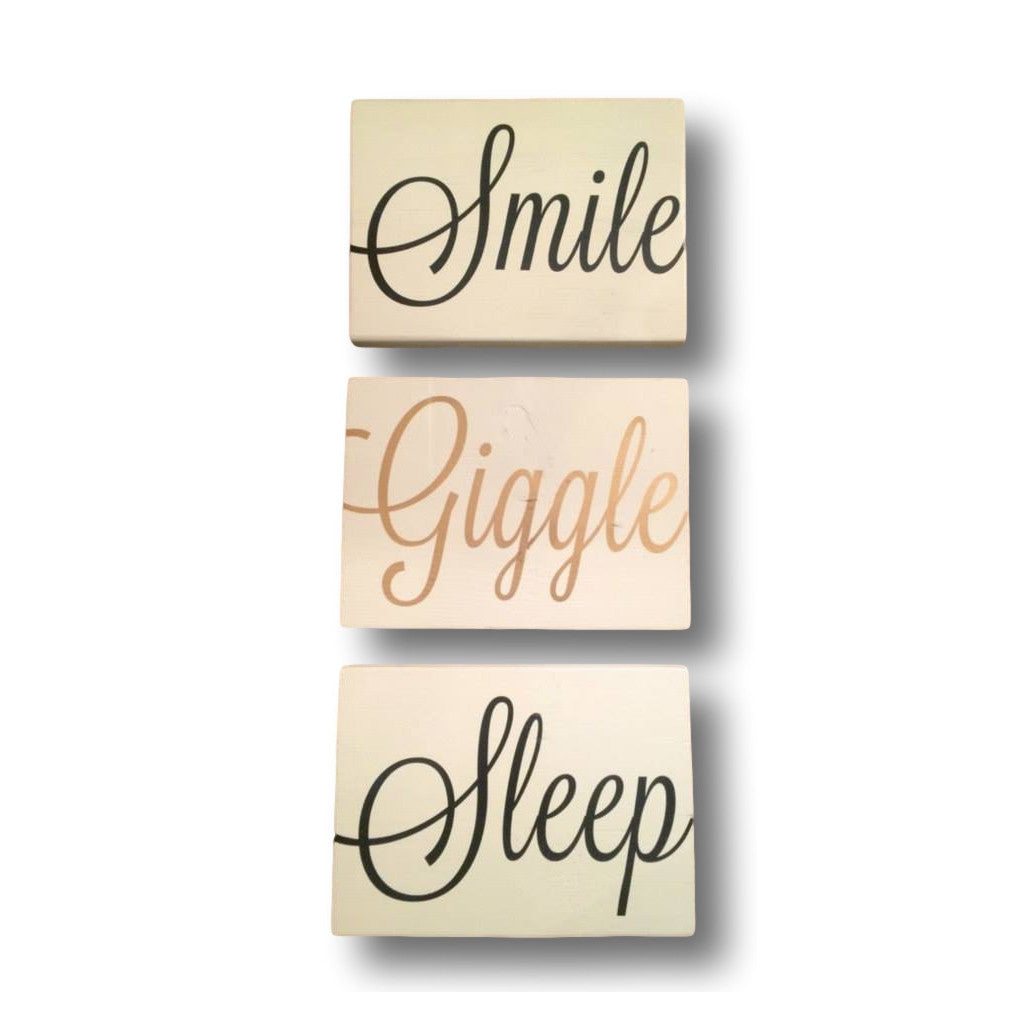 Smile, Giggle, Sleep (Set) - Artizenbox  - 1