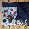 Minky Baby Blanket- Little Cowboy (30