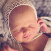 Knit Newborn Bonnet - Artizenbox  - 1