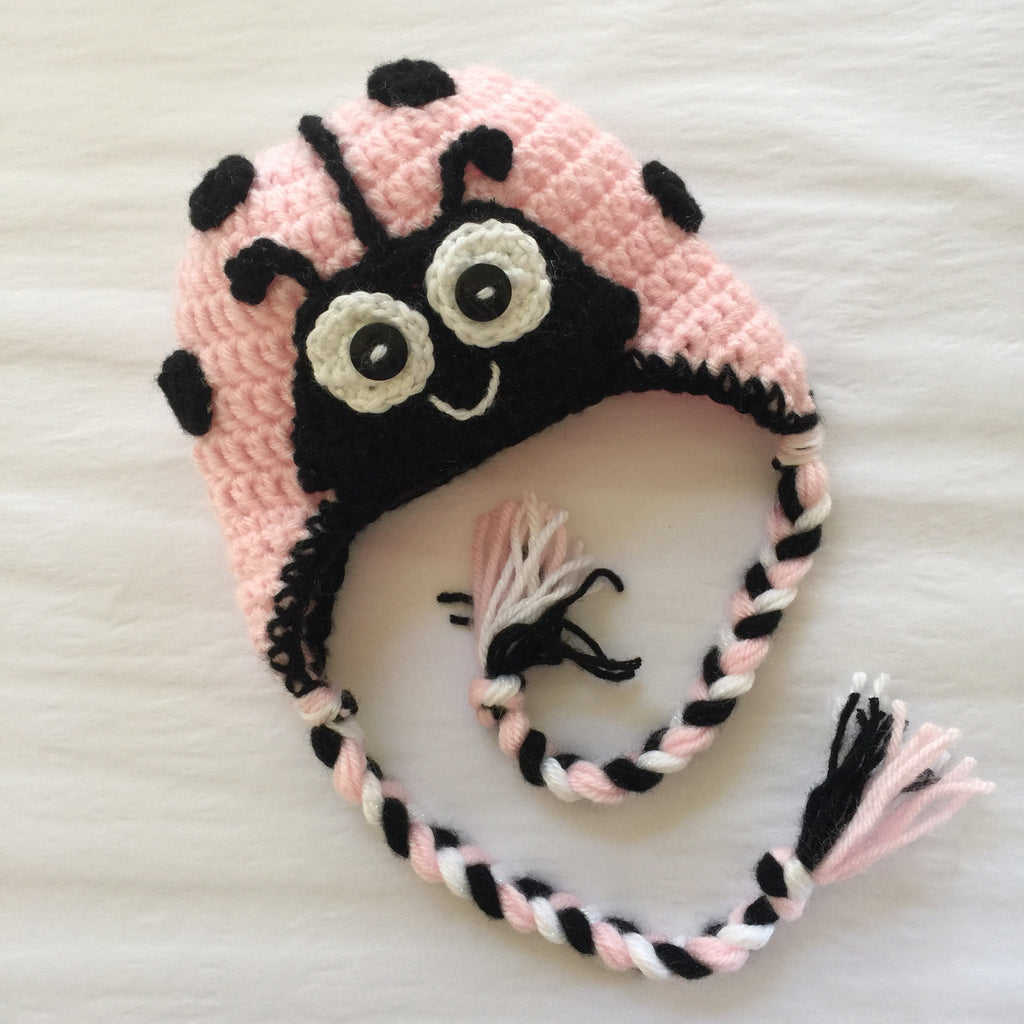 Lenibug ladybug hat for infants - Artizenbox