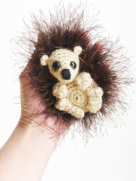 Hugh the hedgie plush