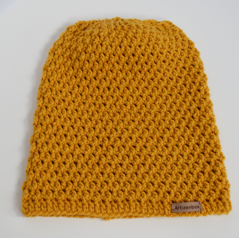 Slouchy Beanie in Large Size