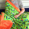 Boy's Minky Blanket- He can