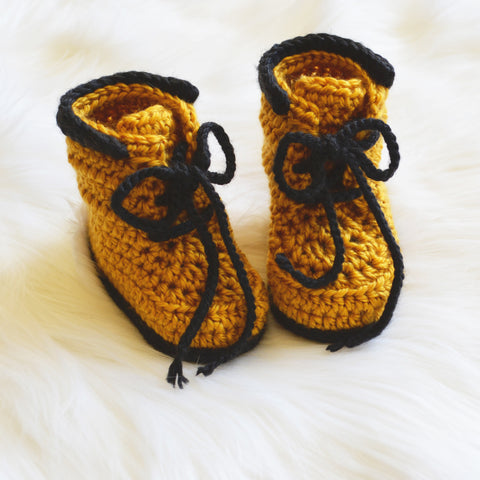 Little Man Work Booties - Artizenbox  - 1