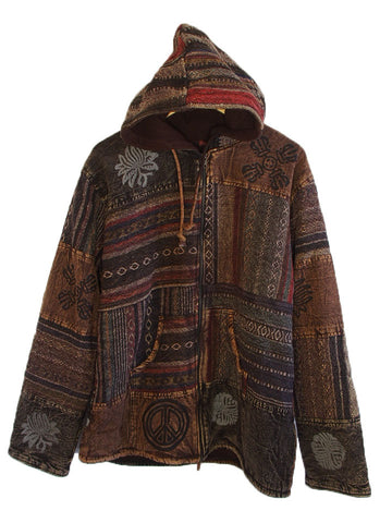 CHAMBA BROWN JACKET