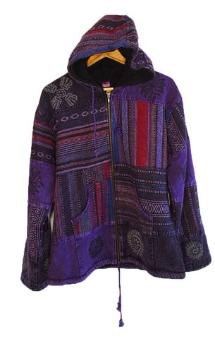CHAMBA PURPLE JACKET