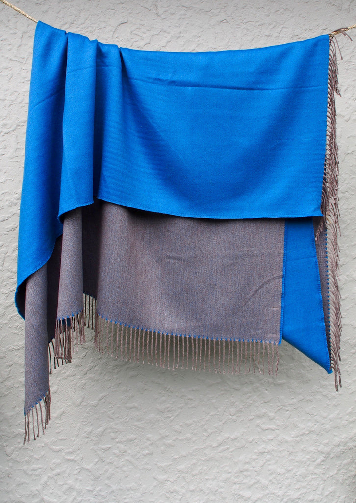 Alpaca/Cotton Throw