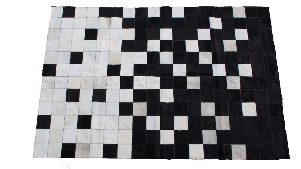 Patchwork Cowhide Rug Arroyito