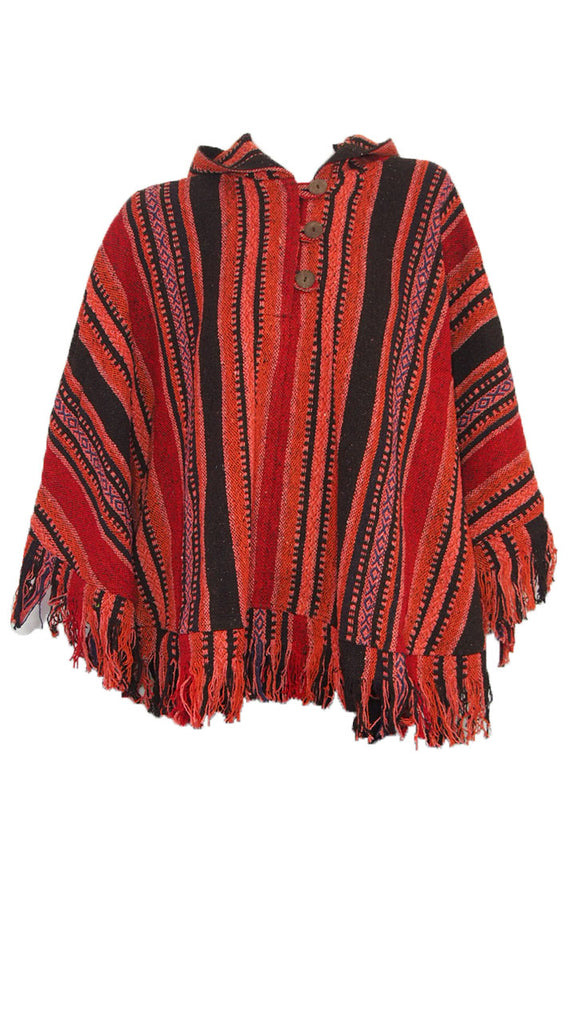 Thamel Cotton Poncho