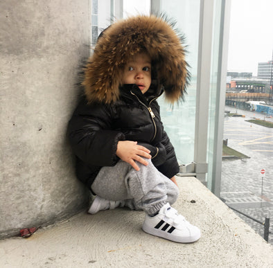 "Manteau Enfant Bubble | Kid Bubble Coat ""ÉDITION LUXE'' - Mpompon"