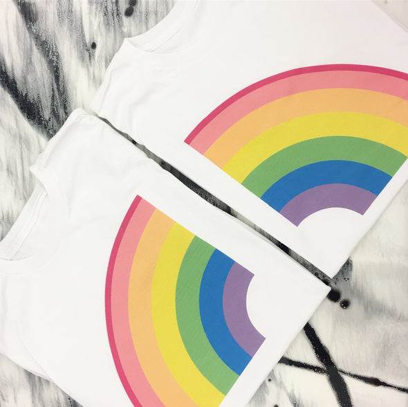 T-Shirt ''RAINBOW'' - Right Side - Mpompon