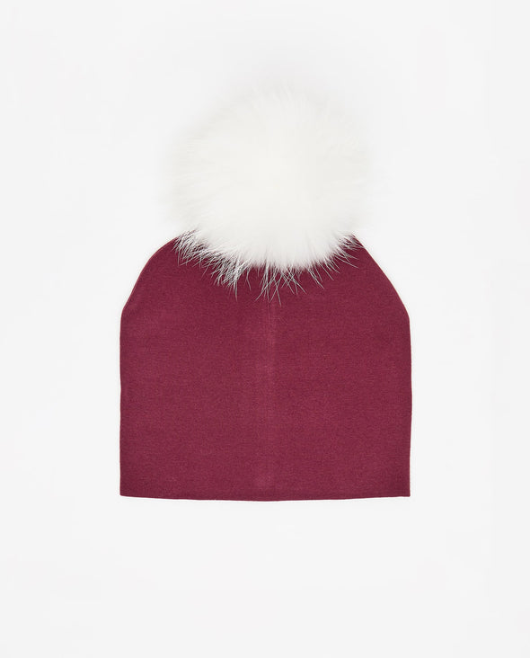 Tuque Adulte Coton | Adult Cotton Beanie BOURGOGNE - Mpompon