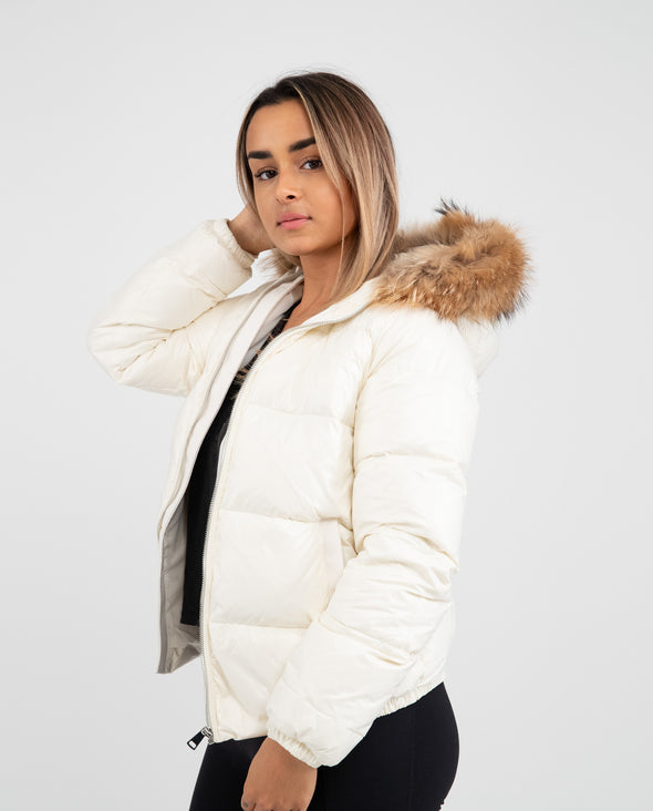 Manteau Adulte Bubble | Adult Bubble Coat IVOIRE - Mpompon