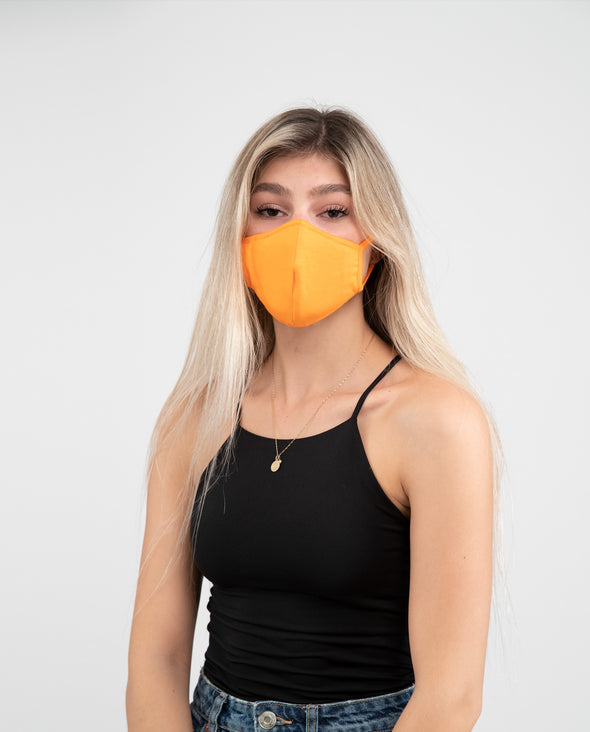 Facetee Style Ninja ORANGE NEON - Mpompon