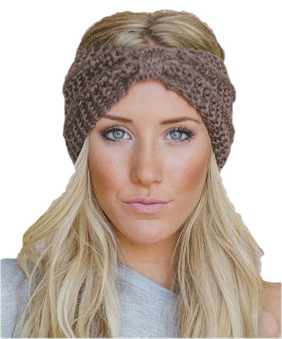 Knotted Knit Headband