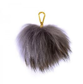 Pom Pom Key Ring - 14 colours