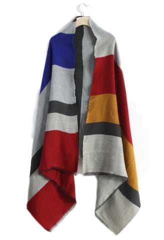 Bold Striped Scarf