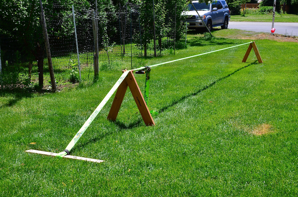 Slackabout - Portable Slackline Stands & Anchors Kit